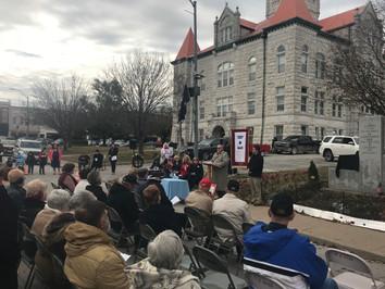 Community gathered at courthouse.jpeg