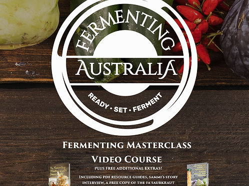 Fermenting Masterclass Video Course
