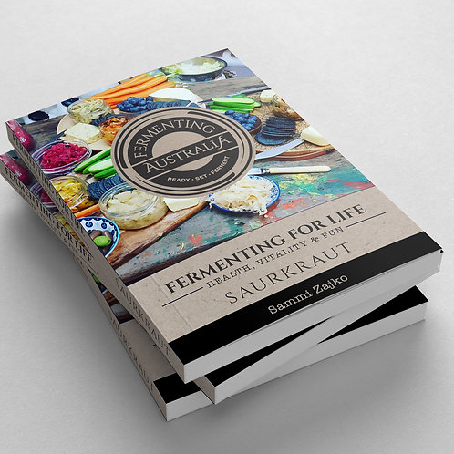 Fermenting Australia Saurkraut Recipe eBook