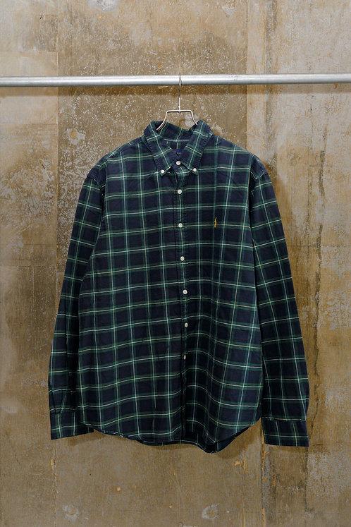 WEEKEND / Polo BD Green Check Shirt