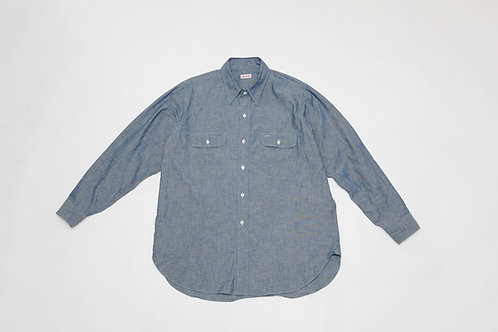 WEEKEND / Oversized Chambray Shirt