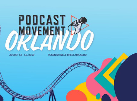Auxbus is going to Podcast Movement 2019