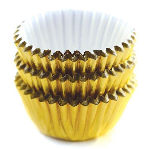 Moldes dorados para dulces. 60 pieza 028901035969