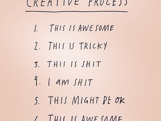 This is AWESOME: The Creative Process