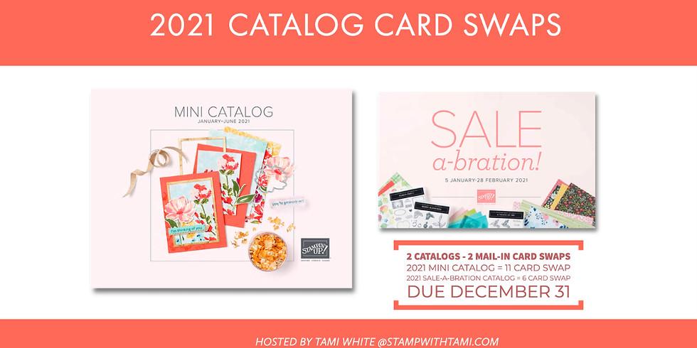 Mini Catalog & SAB Pre-Order Card Swaps - Due December 31