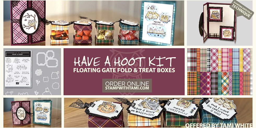 New Have a Hoot Craft Kits special offer savings plus Buy 2, get 1 free Stampin' Blends