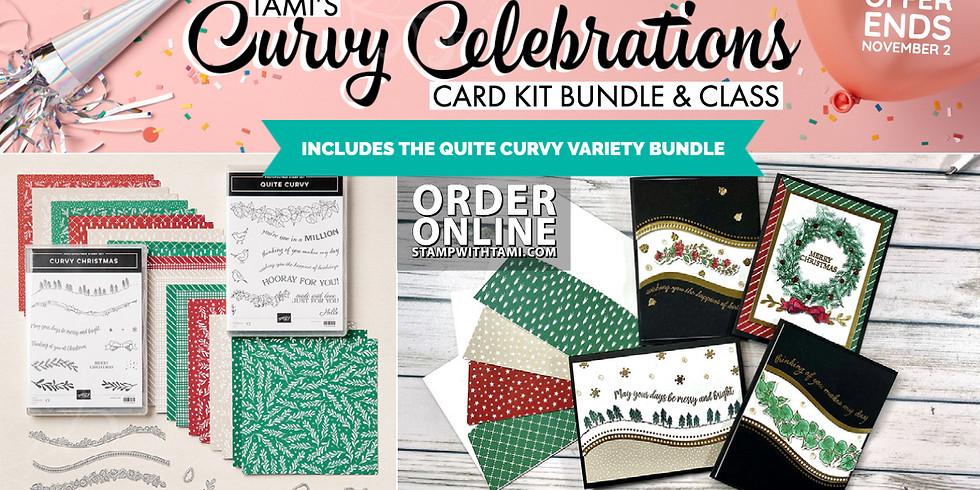 Curvy Celebrations Bundle Card Kits - ends November 2