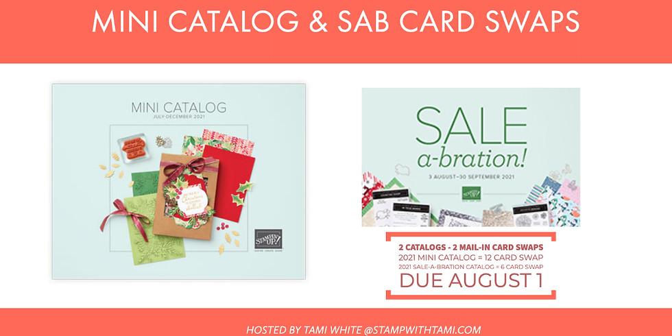 New Mini & SAB Pre-Order Card Swap - Due August 1
