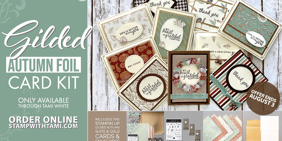 Gilded Autumn Suite Card Kits