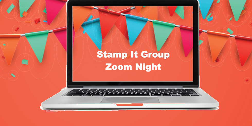 Stamp It Demo Group Zoom PJ Party