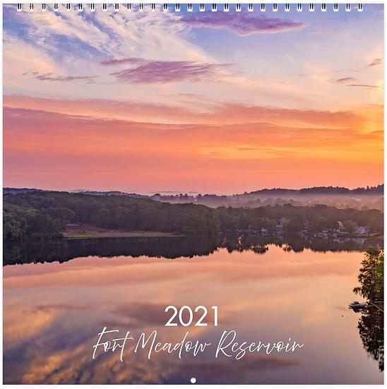 2021 Lake Landscape Calendar Fundraiser for the Food Pantry