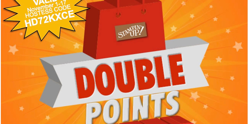 Double Frequent Buyer Points ends November 17