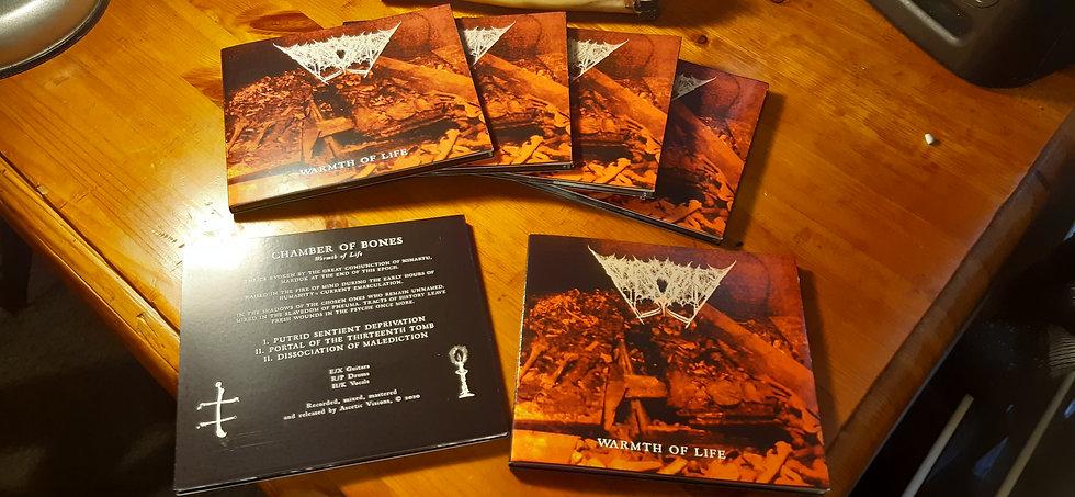 Warmth of Life EP - Chamber of Bones