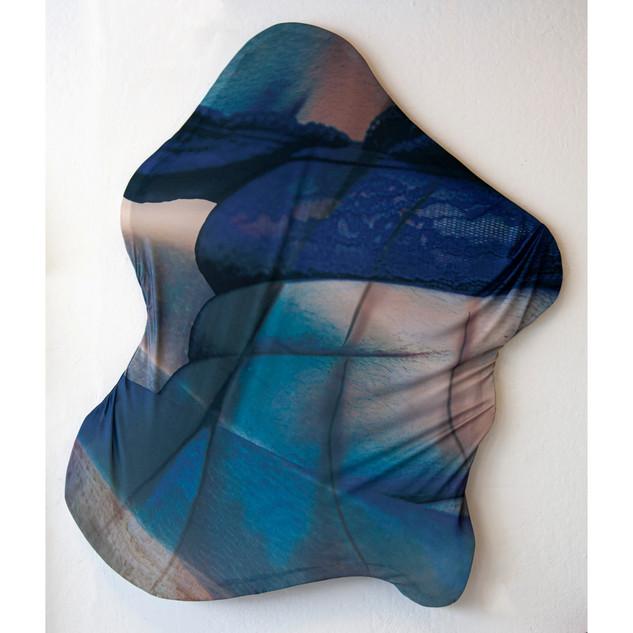 Folds-Dye Sublimation Print on Stretcher