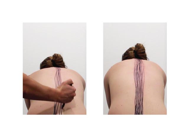 Spine Line (Video Stills)
