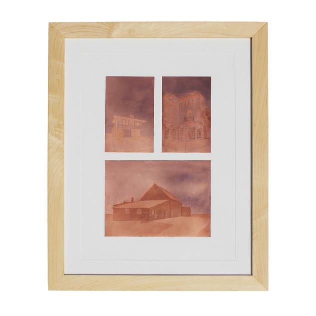 "Plates from ""Carrer de la Torre"", ""Santa Paula Dr"", ""N. Bloomfield Rd"""