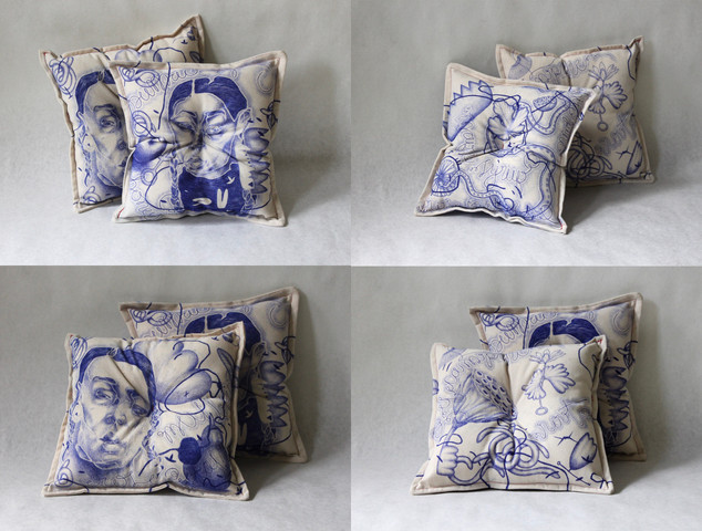 COVID-19 Recipe Pillows (stands)