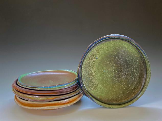 Porcelain Plate Arrangement