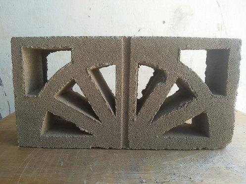 Calado media naranja de cemento valor x metro cuadrado