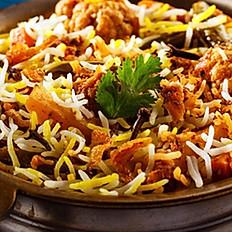 Indian Veggie Chickn Briyani