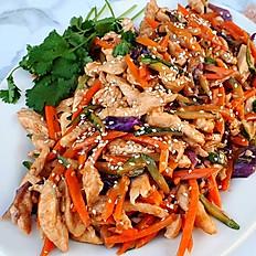 Thai Coconut Chickn' Veggie Stir Fry