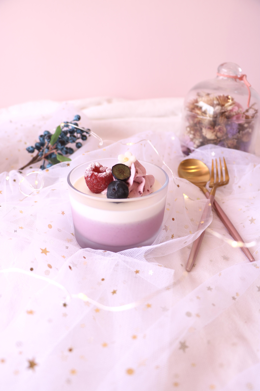 Purple Yogurt Cup