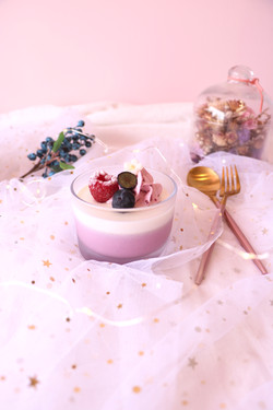 Purple Yogurt Cup