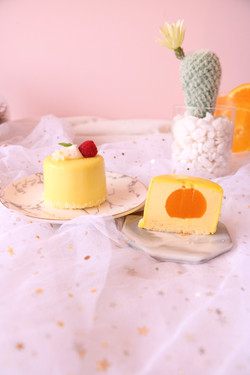Mango Soft Cheesecake