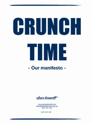 Crunch Time - Our Manifesto