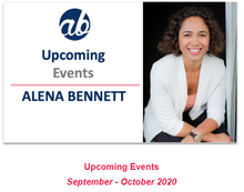 Alena Bennett's Upcoming Events