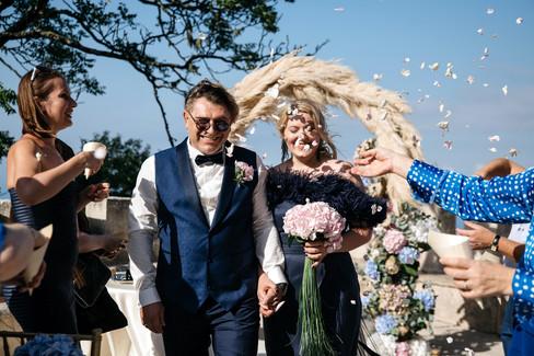 Wedding in Castle of Erice