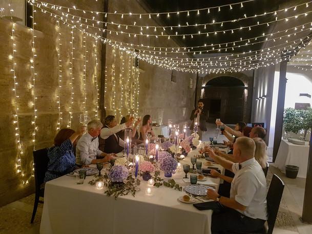 Свадебный ужин Сицилия