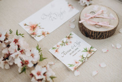 Almond Blossom Stationery