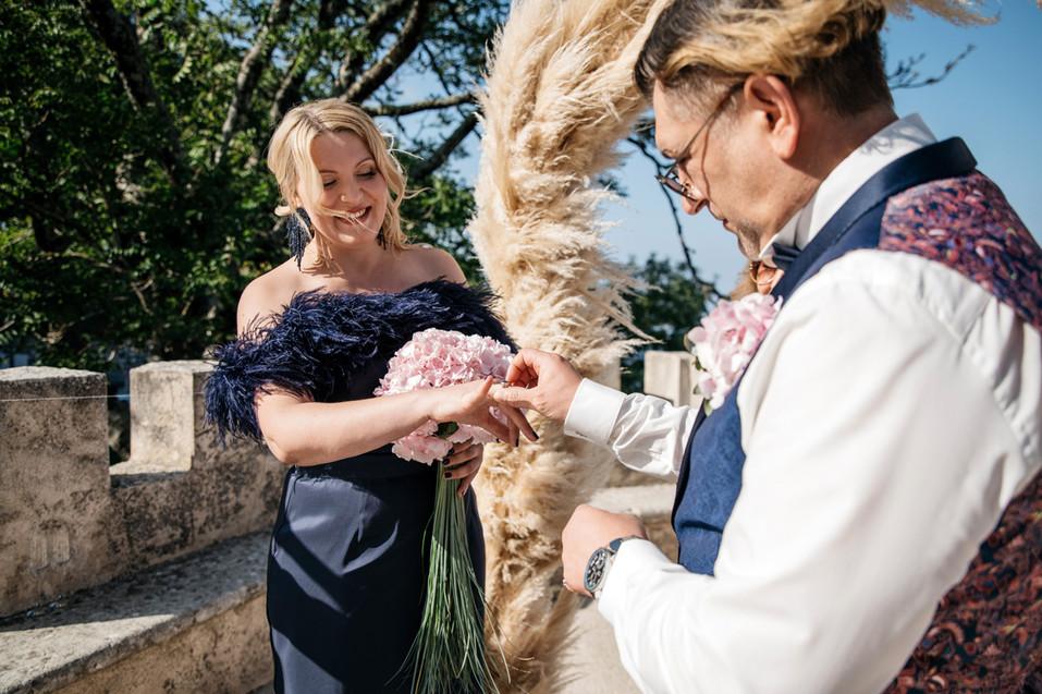 Symbolic Wedding in Erice