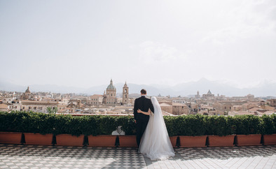 Symbolic Wedding in Palermo