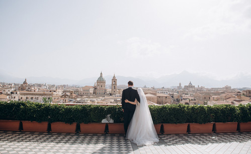 Symbolic Wedding in Palermo