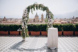 Symbolic Ceremony location in Palermo