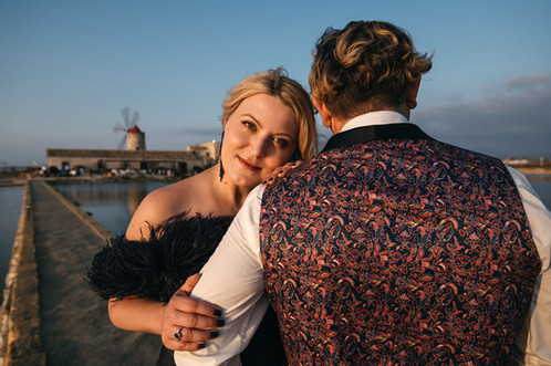 Wedding Photoshoot in Trapany