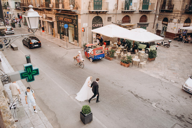 Wedding Photoshoot in Palermo