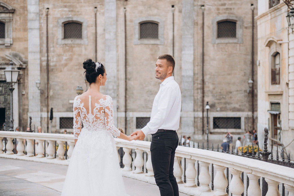 Wedding for Two in Palermo