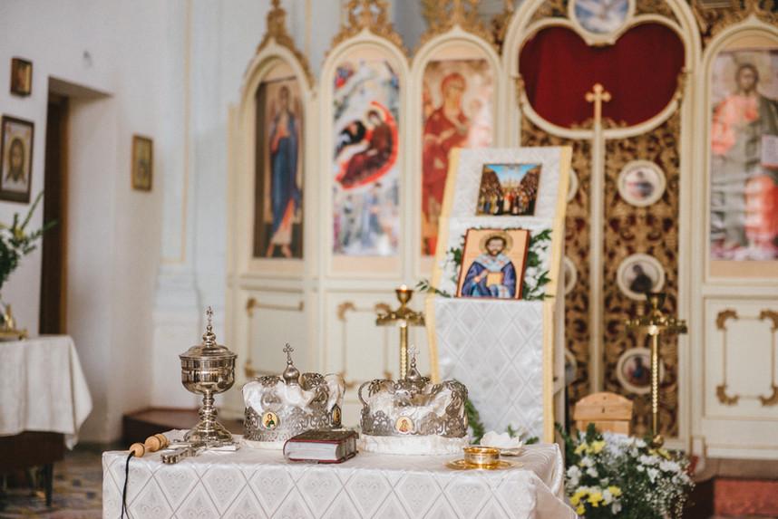 Православное венчание в Палермо