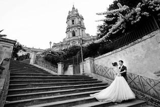 Baroque wedding in Sicily