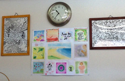 Pastel and Sumi art from Cairns