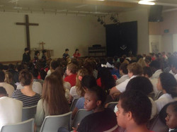 Speach at Peace Lutheran College