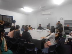 EarthWarkers Seminar in Cairns 2012.