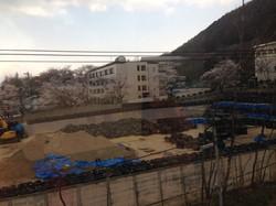 In the Fukushima city