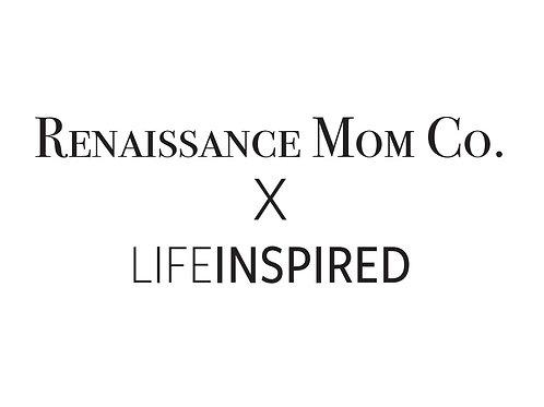 Renaissance Mom X Life Inspired Signature Tshirt & Planner Bundle