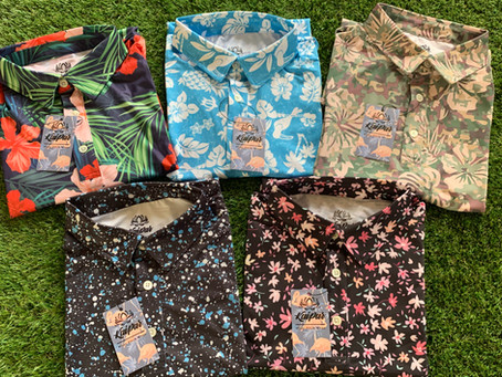 The Kaipar Golf Spring Line featuring new Hawaiian inspired golf shirts is coming soon!