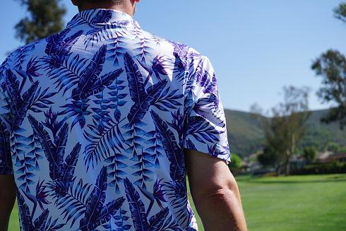 Hawaiian Golf Shirt   Birdies of Paradise