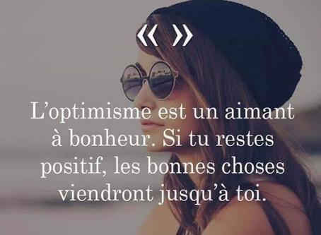 L'optimisme... 💛